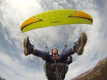 Fin de Semana volando en Parapente