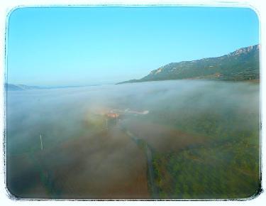 Restos de niebla en el Valle  de Àger