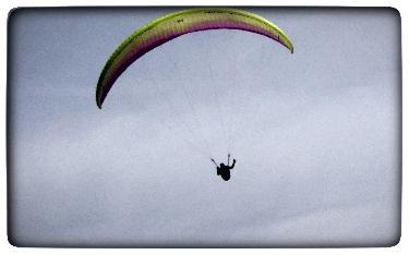 La importància d'aterrar en parapent