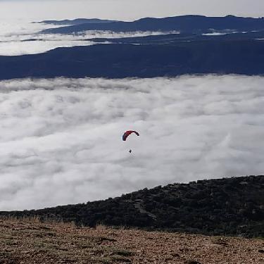 Vuelos con niebla en Lleida